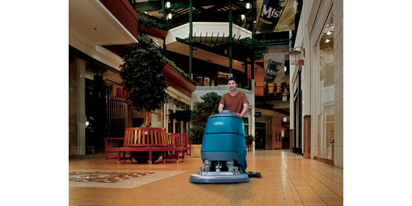Tile floor scrubber rental